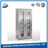 Metal de hoja del OEM que estampa la cabina electrónica/electrónica aplicada con brocha