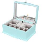 Музыка деревянный ящик для хранения для украшения Тиффани синего цвета