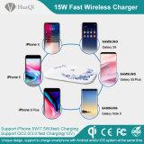 Caricatore senza fili mobile di più nuovo disegno dalla Cina per Samsung S8/S8 più e iPhone 8/8 di Plus/X