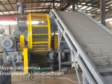 Pneu de rebut semi-automatique de 500 kg/h heures réutilisant la ligne chaîne de production en caoutchouc de poudre