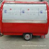 Motocicleta Carreta helado italiano Carrito de perros calientes carro móvil