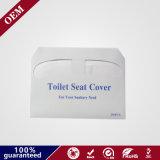 Dekking van Flushable van de Bescherming van de Dekking van de Zetel van het Toilet van het Document van 1/2 Vouw de Beschikbare Hygiënische