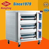 European Design Upward Door 3 Deck Luxurious Electric Baking Oven Commercial