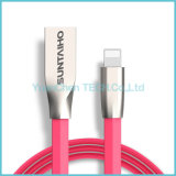Sinc. de los datos de la aleación del cinc y cable de carga para el iPhone 6/6s/7