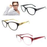2016 Prêts fait de nouveaux cadres de l'acétate de lunettes optiques de Lady this La FDA a approuvé aucun MOQ