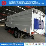 Prix bon marché d'aspiration de la rue de la route des camions de nettoyage Nettoyer les camions balayeuse de camions