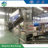 A linha de produção de adubo orgânico para tratamento de estrume