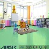 Pavimento puro del PVC del vinile del centro del gioco dei bambini di colore di vendita calda per dell'interno