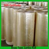 1280mm BOPP Film Acrylic Adhesive Jumbo Roll Embalagem Fita Gum Tape Tape OPP
