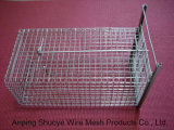 TrappingのためのMetal折られたWild Cat Catcher Cage