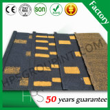 Толщина 0,4 мм китайский заводская цена листа Крыши с покрытием из камня миниатюры на крыше