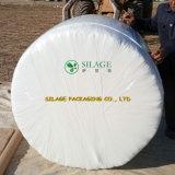 Weiße Silage-Verpackung für quadratischen Ballen