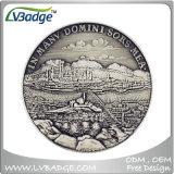 Moneda de oro de encargo 3D para el regalo de Sovenir