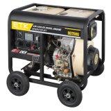 gruppo elettrogeno diesel 6kw con la cassa del ventilatore di colore verde