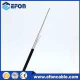 실내 Outdoor 1명의 2 Cores Bow Type 각자 Supporting Wire Drop Fiber Optic Cable