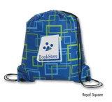 Nouvelle promotion bon marché de gros sac avec lacet de serrage en polyester