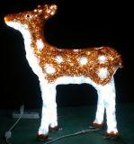 Feiertags-hellem Innenweihnachtsdekoration-Ren leuchten