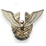 3D de sécurité personnalisé décoration militaire de l'or Die Casting insigne métallique
