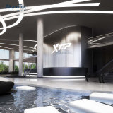 Globaler Agens-rechteckige Aluminiumzwischenwand für Dekoration