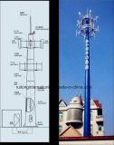 셀룰라 전화를 위한 Monopole 탑