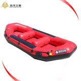 1,8 mm Self-Bailing PVC Whitewater River Jangadas com capacete e camisa de vida