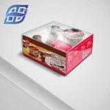 工場価格の卸売のカスタム明確なプラスチックパン屋の包装の菓子器