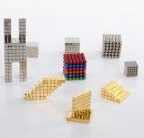 Магнитные Cube 216 ПК 5мм магниты блоки детские головоломки квадратных Cube магниты игрушка