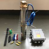 pompa ad acqua solare di 3inch BLDC, pompa di plastica della ventola, pompa ad acqua sommergibile solare