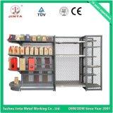 Scaffale di negozio del metallo di ipermercato del supermercato con la certificazione del Ce