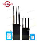 Portable 6bandas Jammer/Blocker CDMA/GSM/3G/4glte celular/WIFI/Bluetooth/GPS/Glonass Fullband Galileol1-L5 Dispositivo de seguimiento/Lojack/Wi-Fi