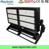 La iluminación del estadio de fútbol de alta potencia 600W Reflector LED
