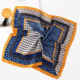2018 estilo europeu e americano Professional lenço quadrada pequena de seda