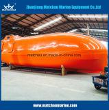 Material plástico reforçado com solas de barco de vida de queda livre