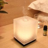 Verre diffuseur de parfum en verre coloré, ultrasonique Cool Mist humidificateur W/ 7-LED Color-Change