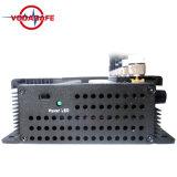 De Stoorzender van het Signaal van de Telefoon van de Hoge Macht van de Desktop/Blocker, de Krachtige Mobiele Stoorzender +4G+Gpsl/Glonass/Galileol1/L2, Stoorzender van de Telefoon van de Cel van 6 Banden van de Desktop de Regelbare