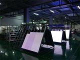 Bekanntmachender LED Plakat-Innenbildschirm der WiFi Steuermobiler Stellung-Ha2.5