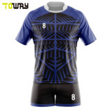 Maglia Da Rugby In Poliestere Sublimation Set Personalizzato Per Il Team Di Sublimazione