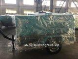 Kaishan 7bar 265cfm Portable compresseurs à air moteur Diesel pour l'appareil de forage