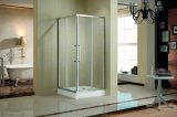 Cabina del recinto de la ducha del cuadrante/cubículo de la esquina de aluminio (K-634)