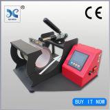 Los interruptores de portátil Dos taza de Diseño de impresión de transferencia de calor de la máquina de prensa