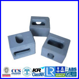 BV/ABS certificó el bastidor/el bloque/ajustar de la esquina del envase ISO1161