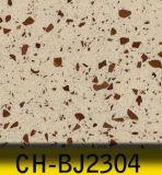 Künstlicher Quarz-Stein, ausgeführter Quarz mit Platin