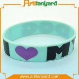 Wristband del silicone stampato gomma promozionale