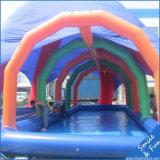 子供または大人のための大きい円形の膨脹可能なプール