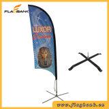 Promoção de eventos de impressão digital em fibra de Banner Flag Display Sinalizador de Bali