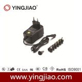 1000mA Mode de commutation Universal Regulated Power Adapter