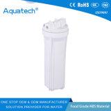 poro 10  custodia di filtro trasparente blu dell'acqua con Thread&1/2 interni