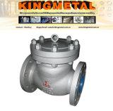 Valvola di ritenuta dell'acciaio inossidabile Dn150 316 con il prezzo di pollice,