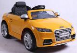 Passeio elétrico licenciado dos miúdos no brinquedo Audi do carro