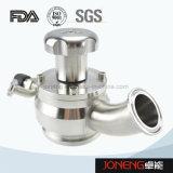 Valvola a diaframma sanitaria della presa del serbatoio dell'acciaio inossidabile (JN-SPV2015)